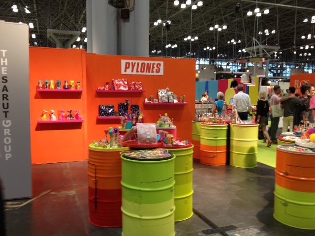 new york international gift fair booth