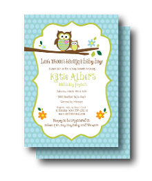 owl themed baby shower invites  sarahwolfrum, Baby shower invitations